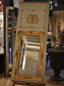 Early 19th century French Trumeau mirror