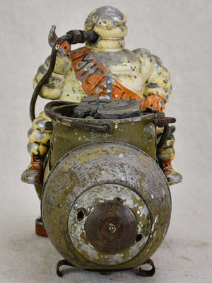 Antique French Michelin air compressor