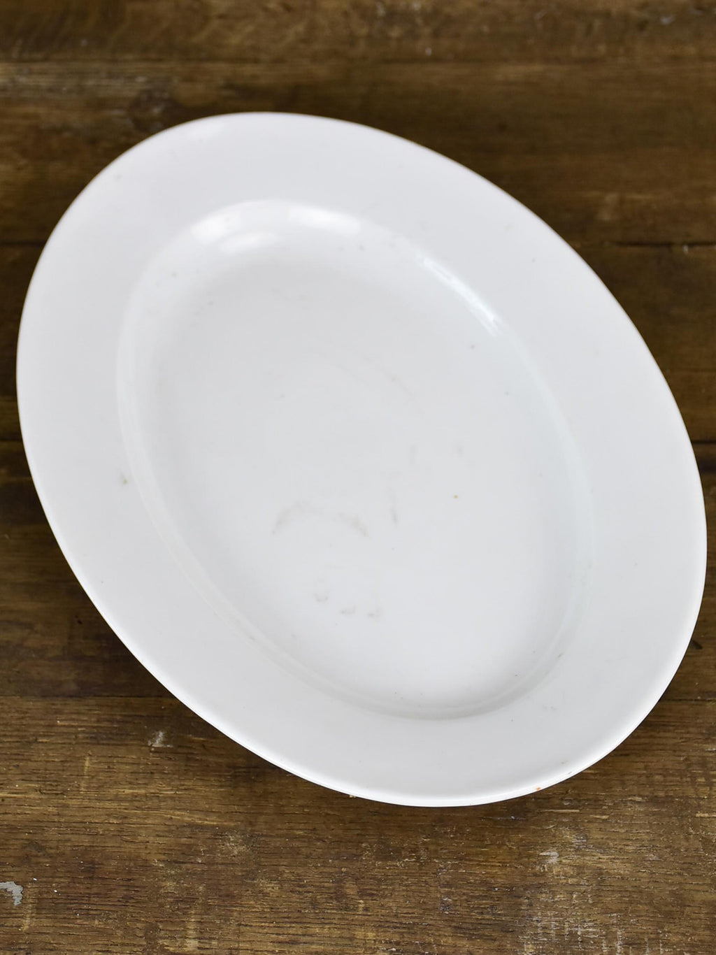 Late 19th Century ironstone platter - white