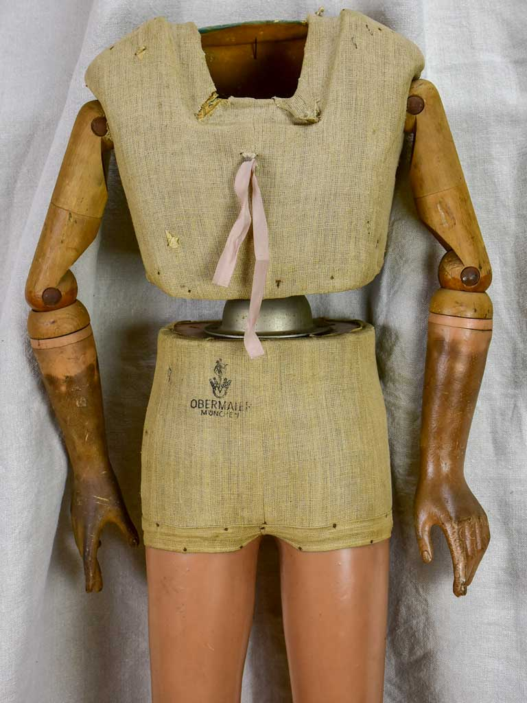 Early 20th Century German tailor's mannequin- child - articulated