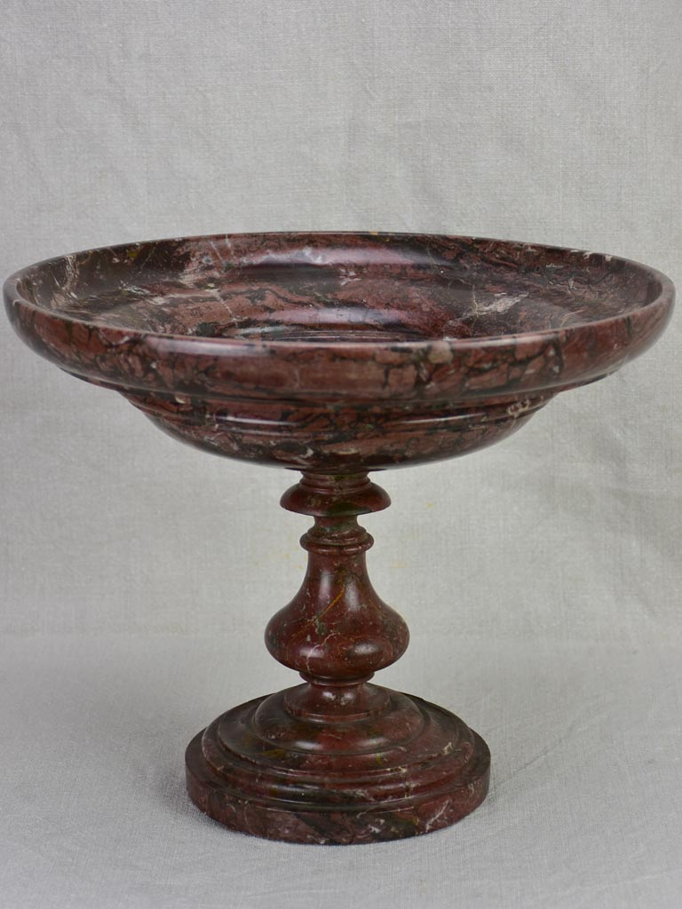 19th century marble cup or coupe from south west France