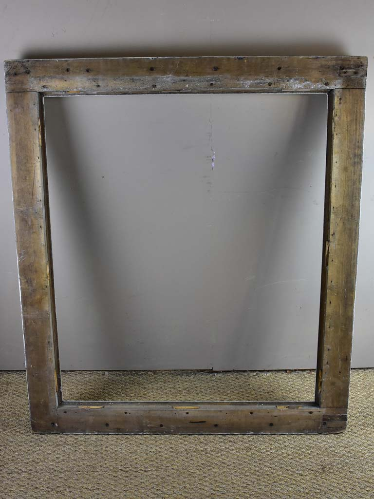 Large antique French walnut frame - for mirror or painting