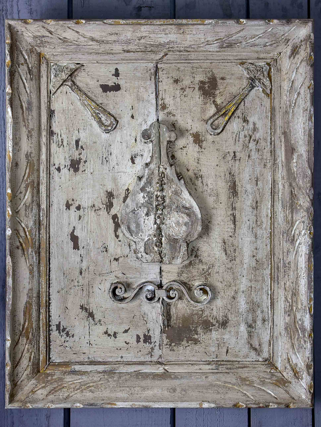 Decorative French wall panel