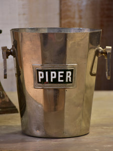 Vintage French champagne bucket Piper-Heidsieck