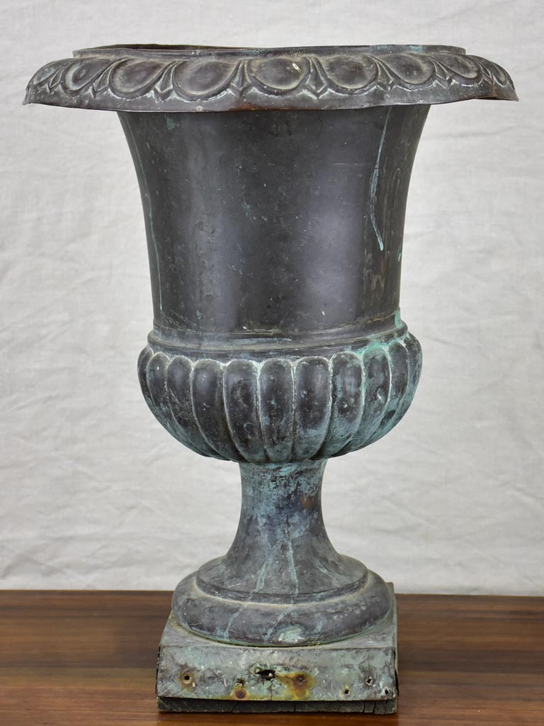 19th Century French copper Medici urn