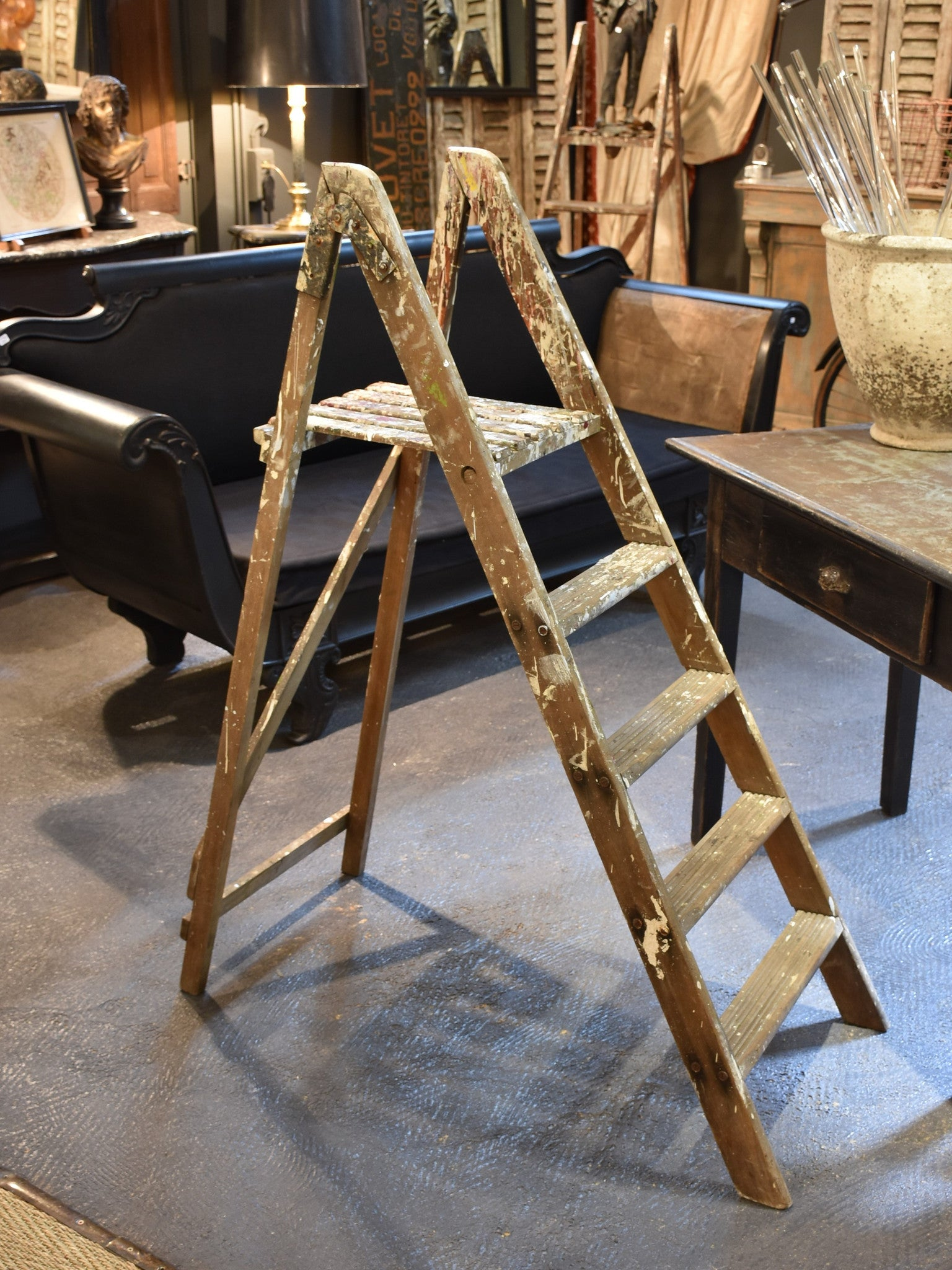 French painter's ladder - circa 1930's