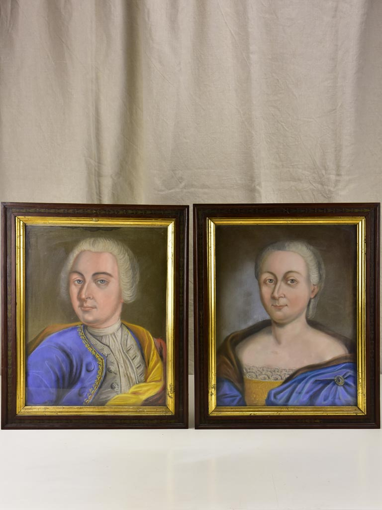Two 18th Century portraits