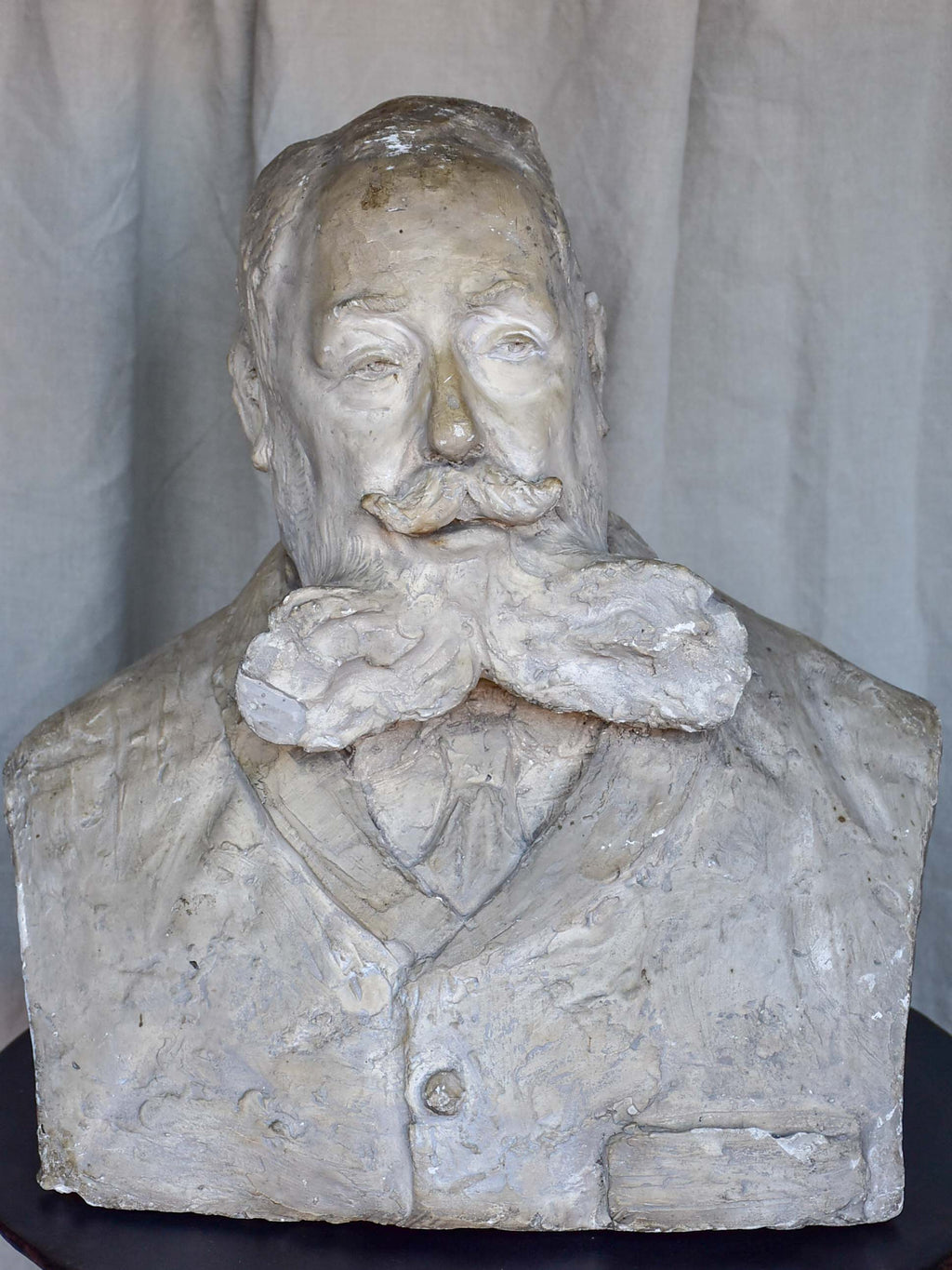 19th Century French bust - plaster