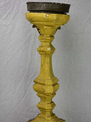 Large pair of 18th Century church altar candlesticks 38¼""