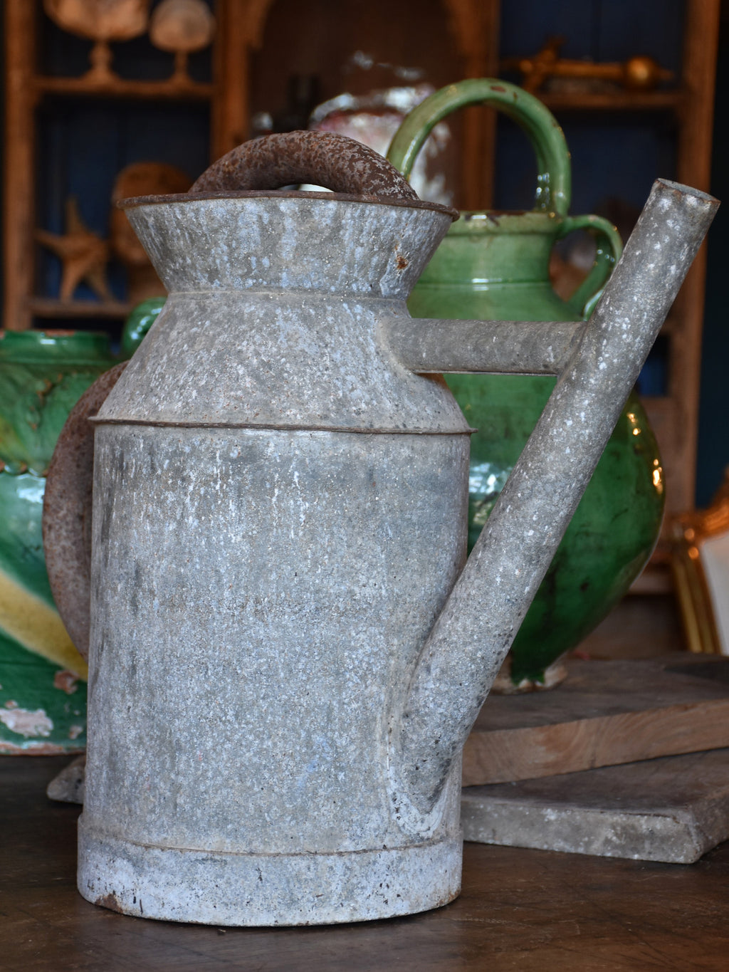 Rustic French watering can – 1900's