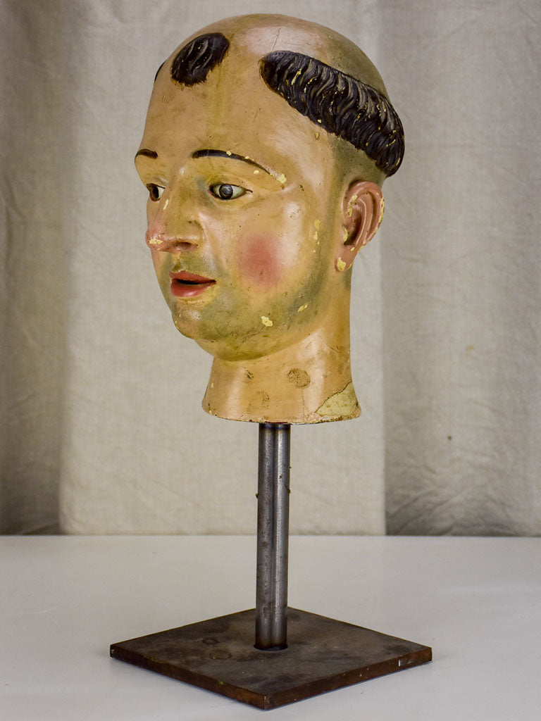 Late 18th / early 19th Century French Saint's head from a church