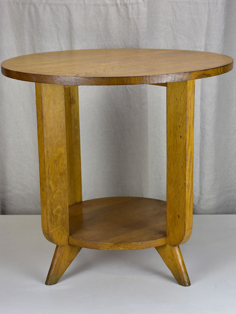 Art Deco oak side table / coffee table