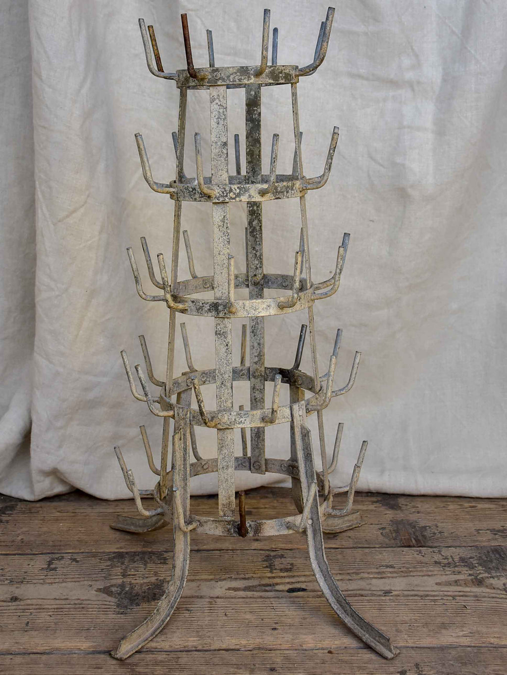Antique French bottle tree