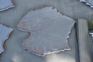 Collection of four leaf plates