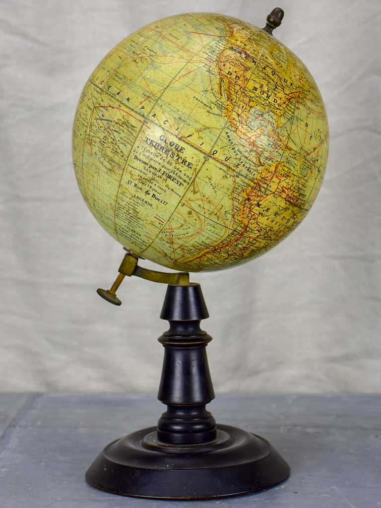 Napoleon III 19th Century French world globe
