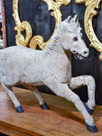 Antique French riding horse