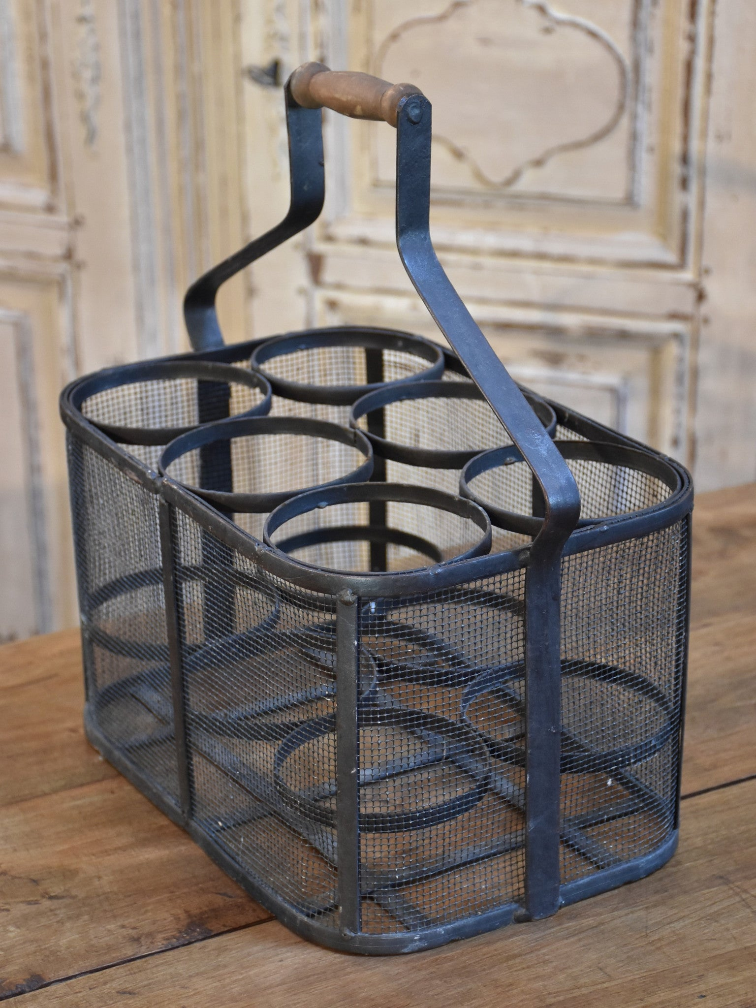 Porte-bouteille 6 bottle carrier