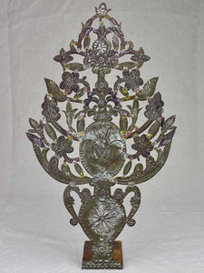 19th Century tole decoration 22""