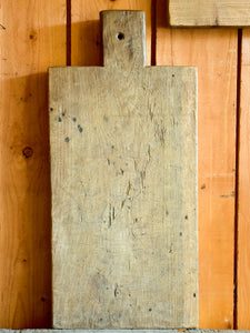 Large rustic French cutting board