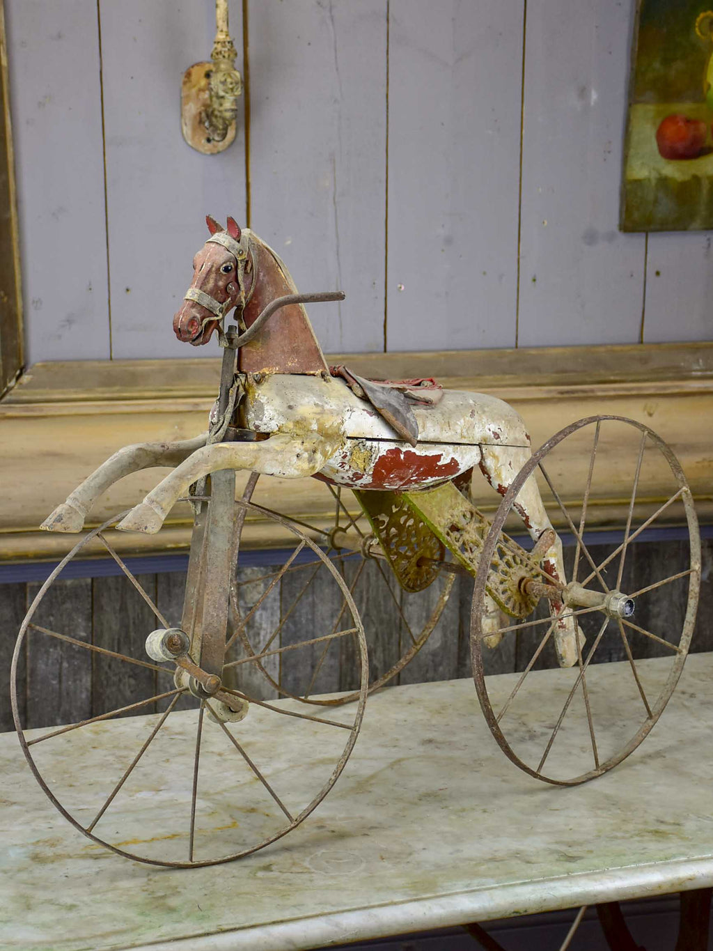 19th Century French horse tricycle