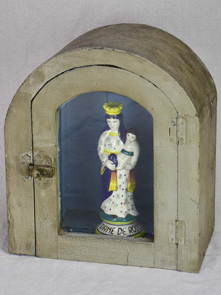 Late 19th century religious display case