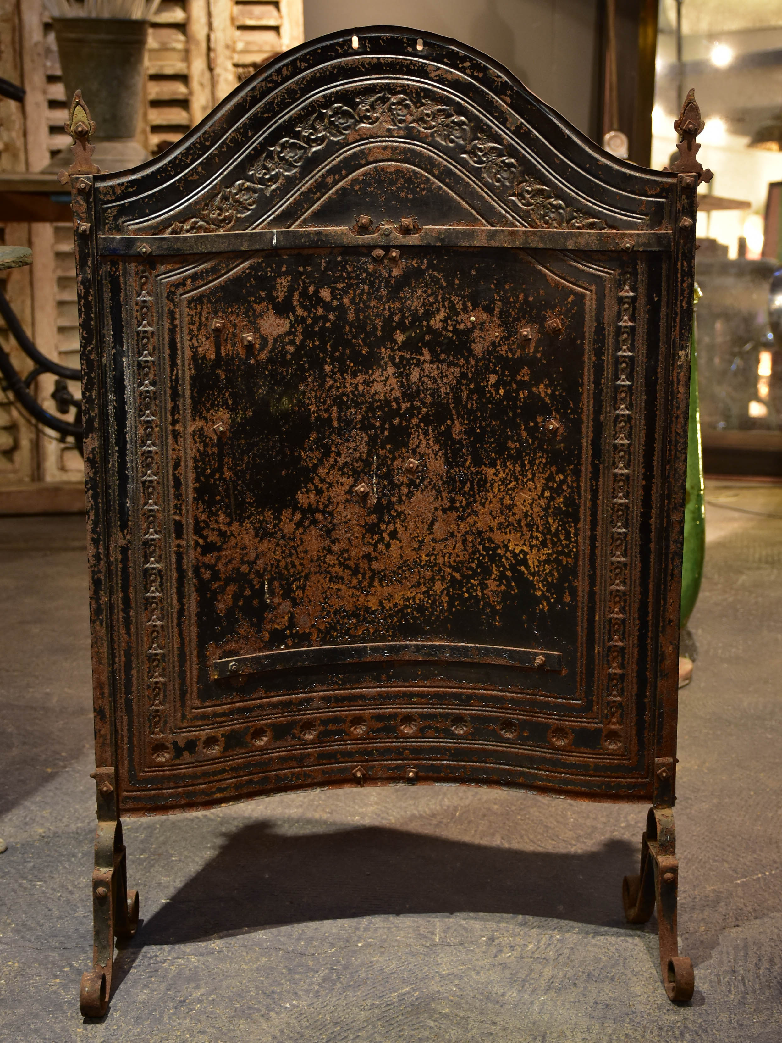 Napoleon III chimney screen