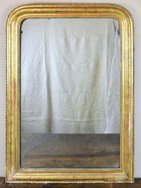 Gilded French Louis Philippe mirror - 19th Century