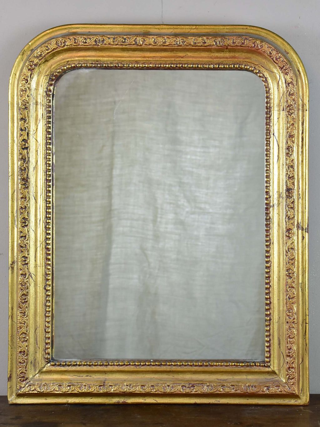 Small gold Louis Philippe mirror - 19th Century