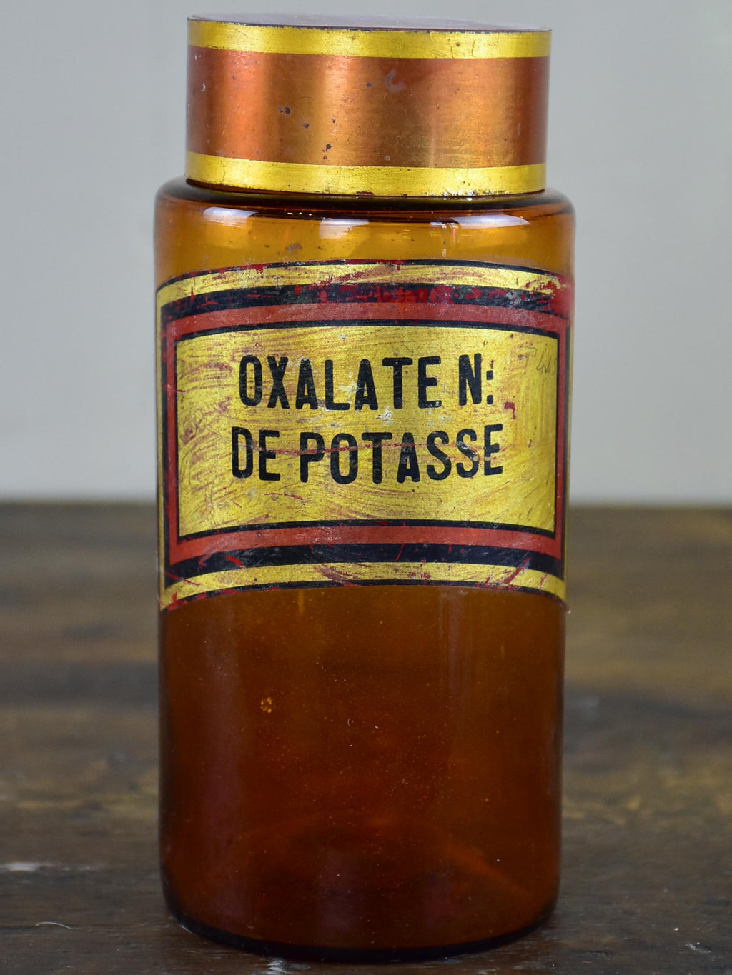 19th Century apothecary jar - Oxalate N: de Potasse
