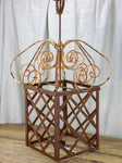 Very large French candle lantern - 1950's