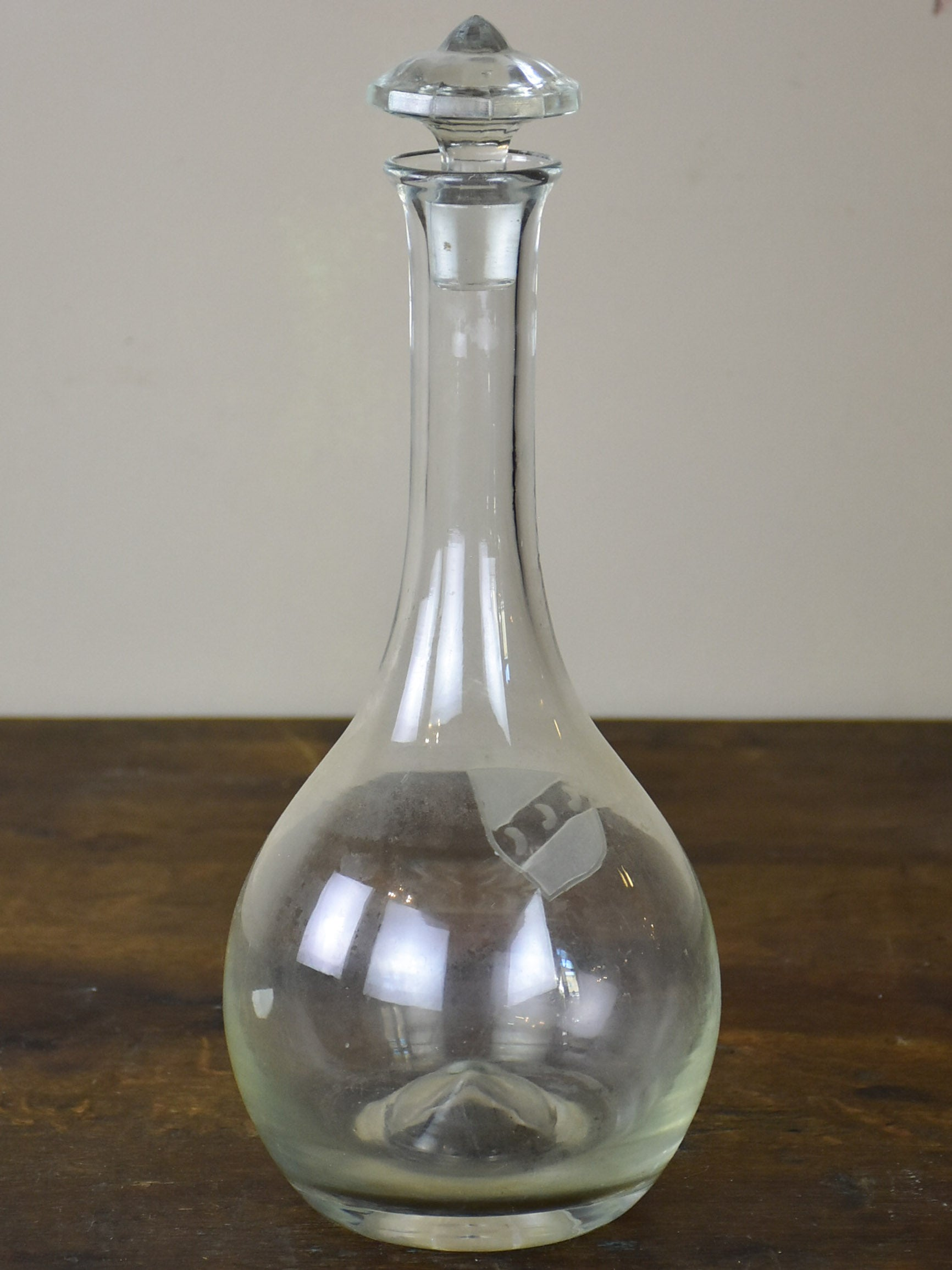 Vintage French wine decanter