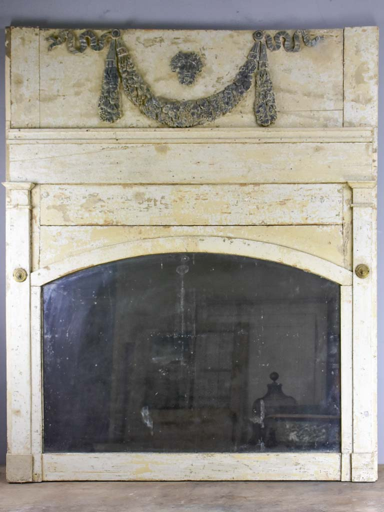 Louis XVI 18th Century trumeau mirror