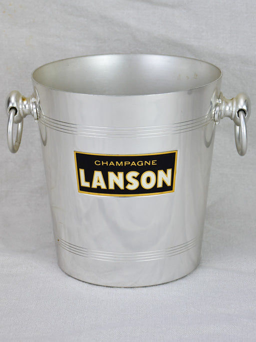 Vintage French Lanson Champagne bucket 8""