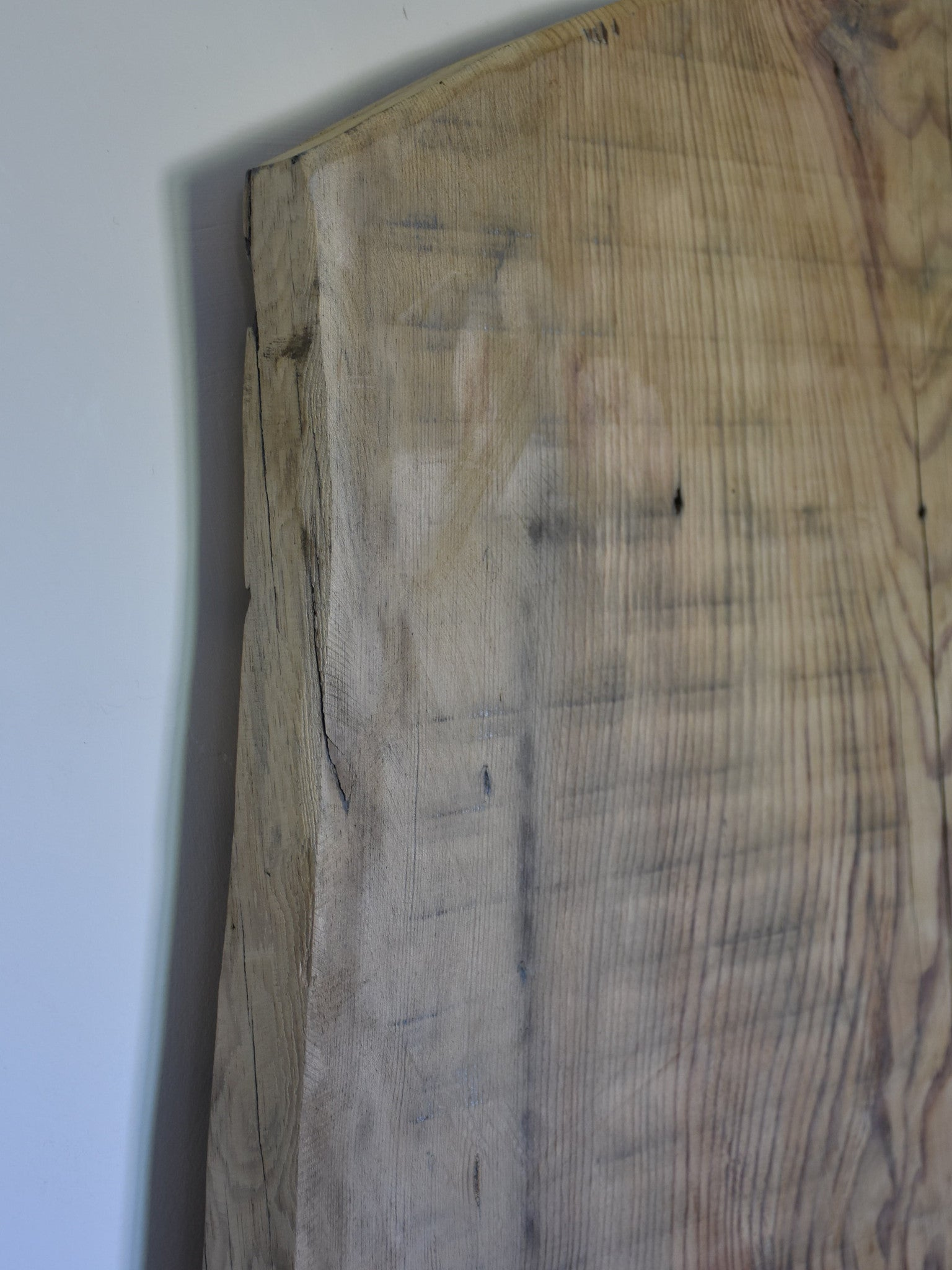Very large vintage butcher's cutting board 34¼""
