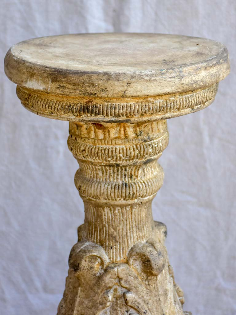 Early 20th Century stone pedestal 26¾""