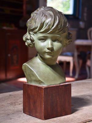 French terracotta bust – 1950's