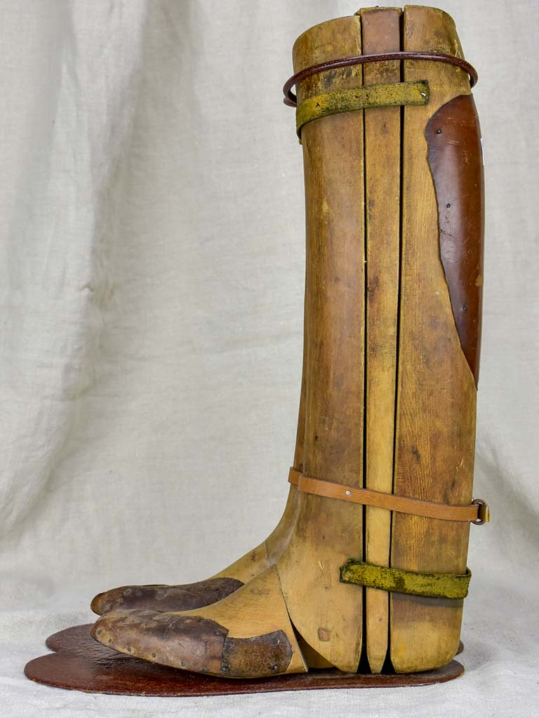 19th Century French boot shoe stays