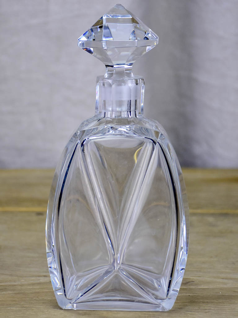 Art Deco French crystal decanter