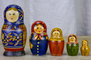Early 20th Century Russian Babooshka - Russian dolls