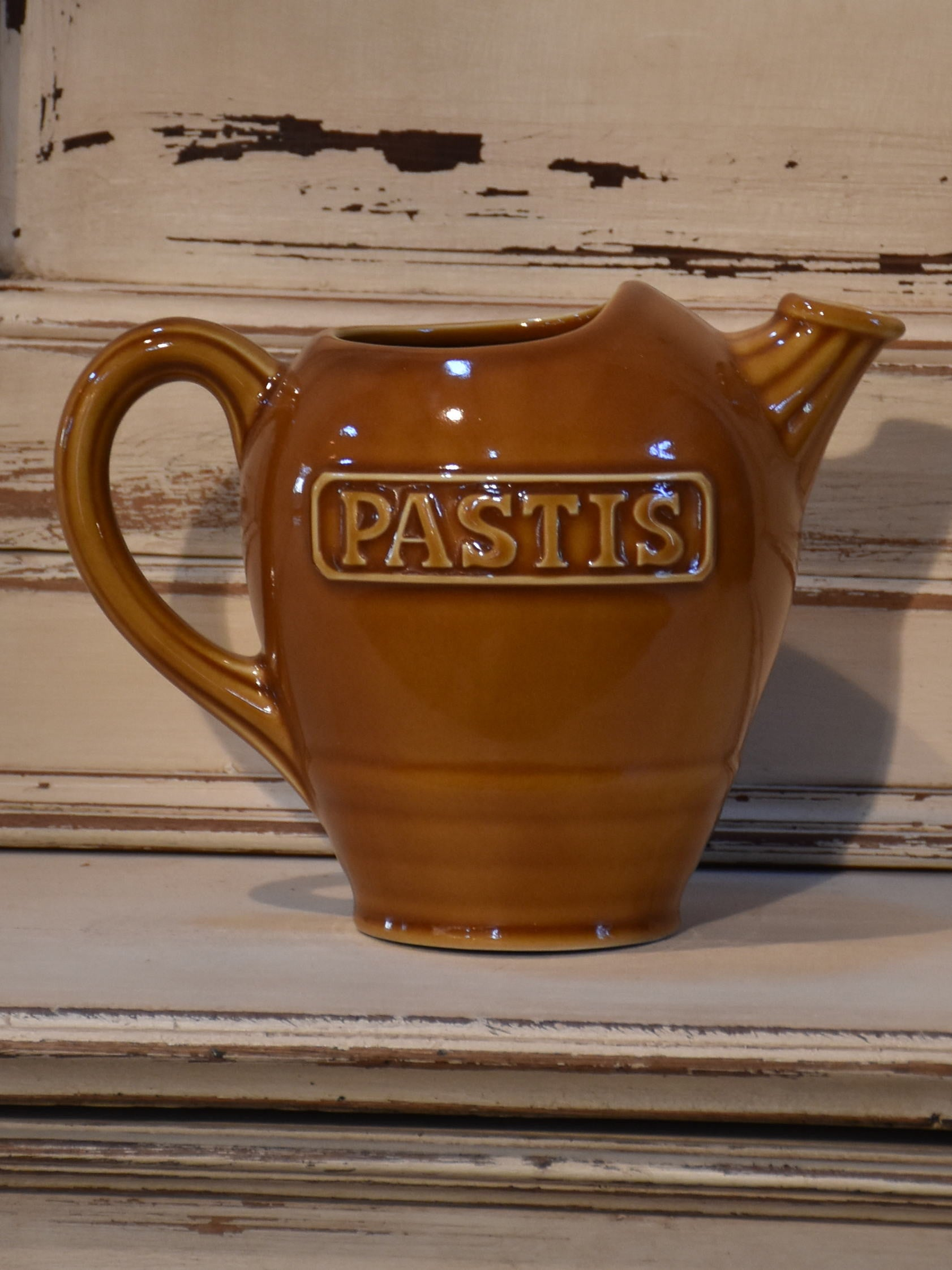Vintage French pastis water pitcher