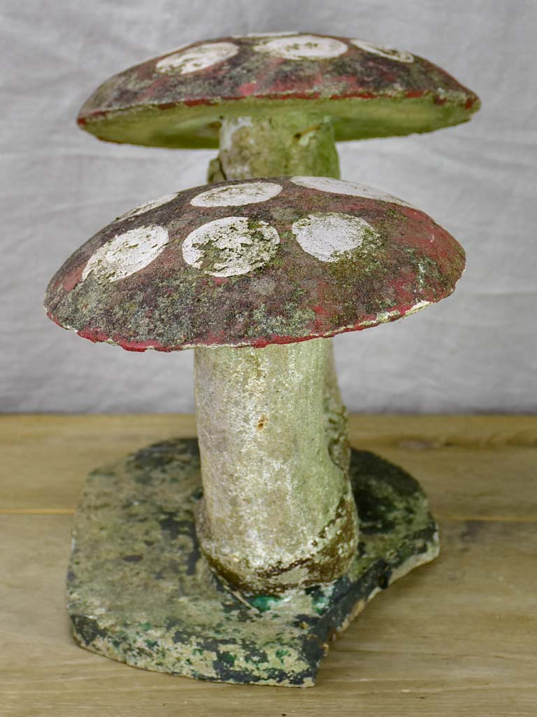 Early 20th Century garden toadstools
