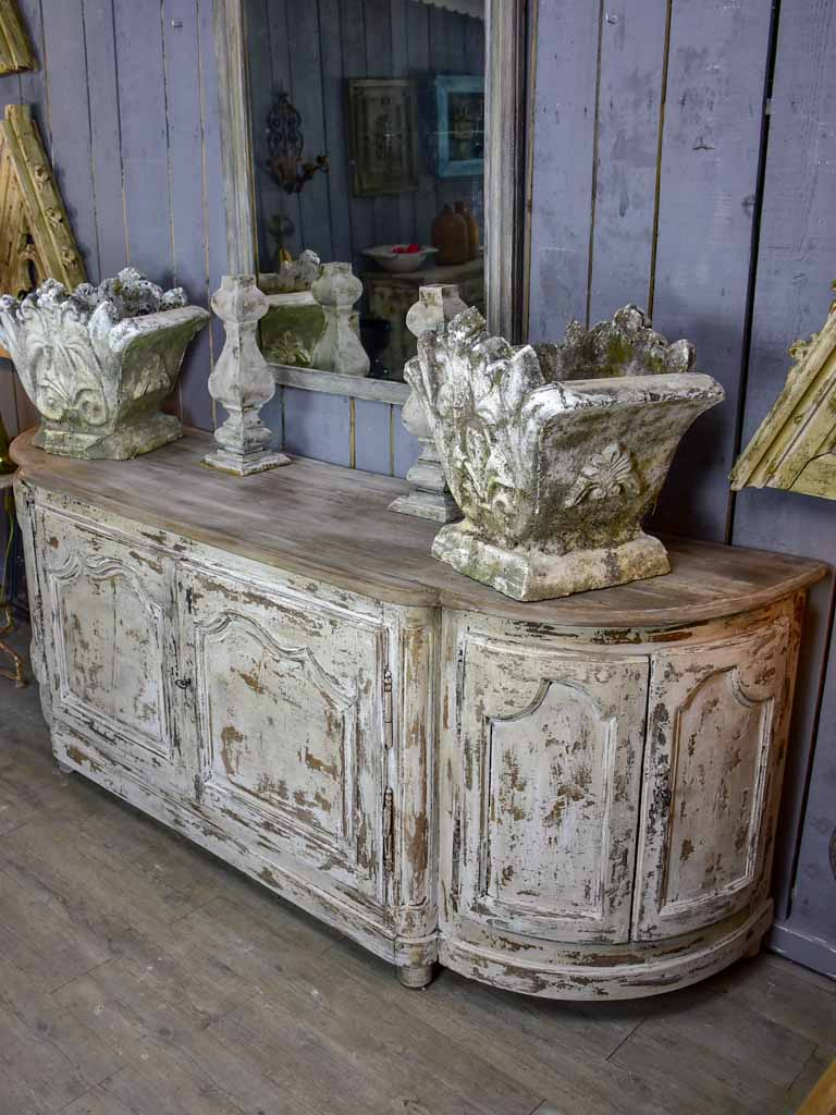 Large 18th century French oak enfilade