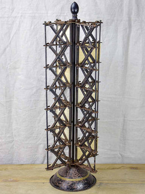 Late 19th Century post card display stand 33""