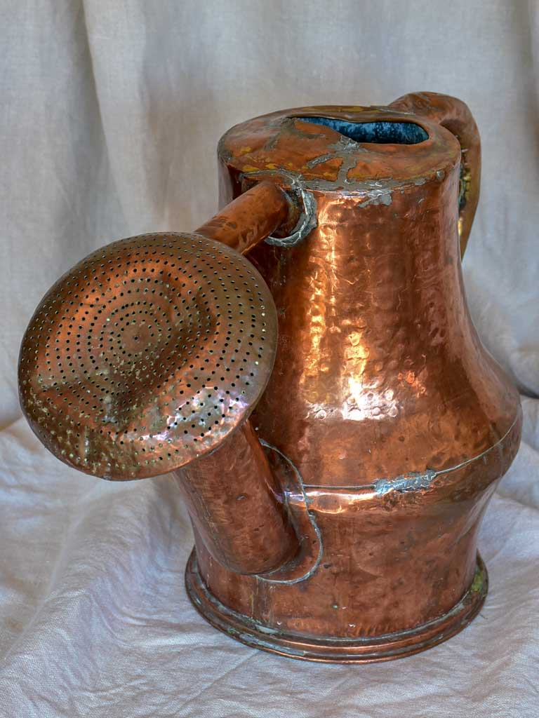Late 18th / early 19th Century French copper watering can