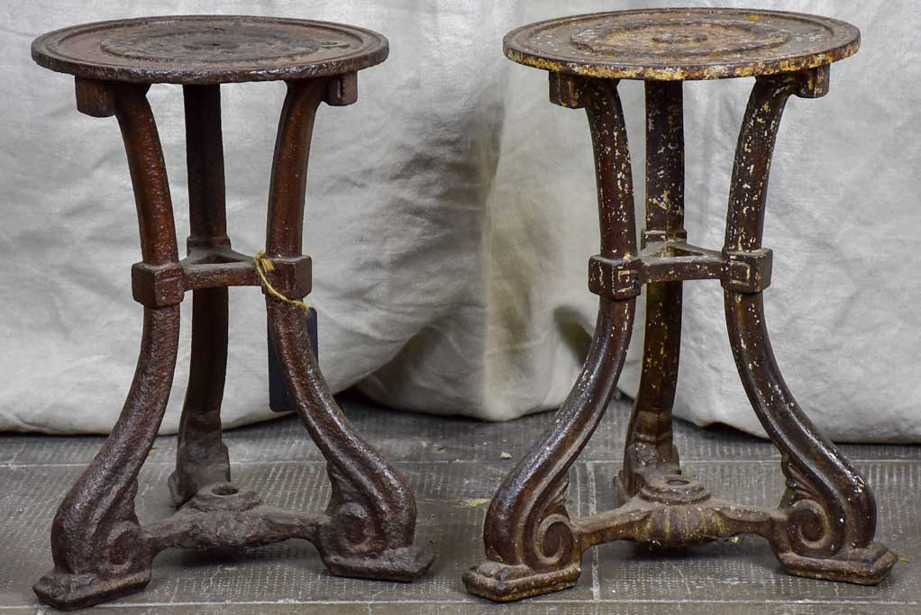 Pair of industrial stools