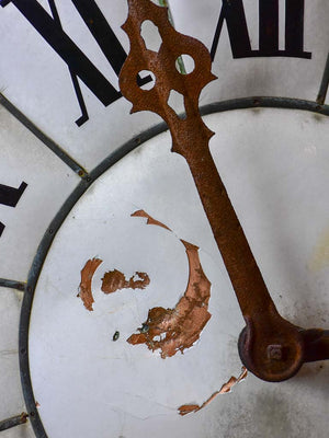 Late 19th Century French church clock - copper
