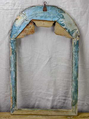 "18th Century Louis XVI theatrical arched frame 19¾"" x 32"""