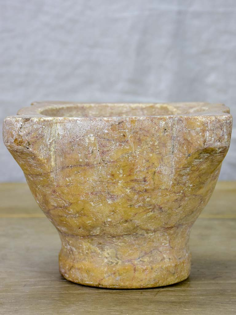19th Century marble mortar 5½""