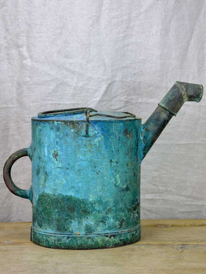 Early 20th Century French agricultural copper watering can