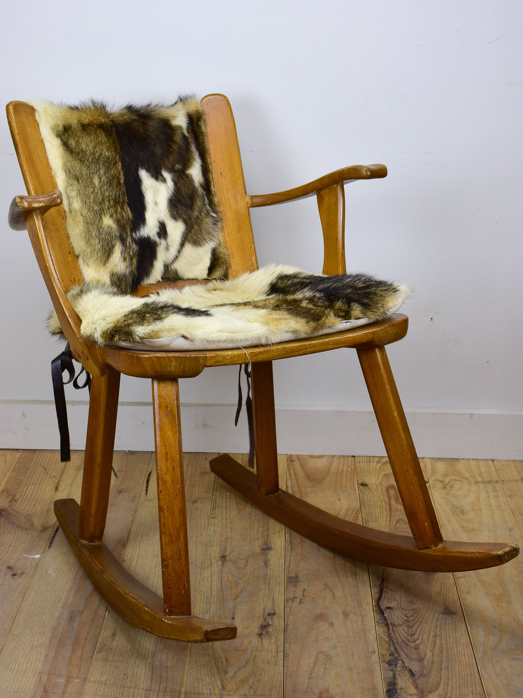 Franz-Xaver Sproll mid-century rocking chair